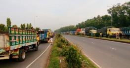 ঢাকা-টাঙ্গাইল-বঙ্গবন্ধুসেতু মহাসড়কে তীব্র যানজট