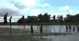 গড়াইয়ে ব্রিজ নির্মাণ কাজের উদ্বোধন
